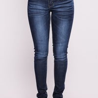 Not Gonna Cry Sky Jeans - Dark Denim