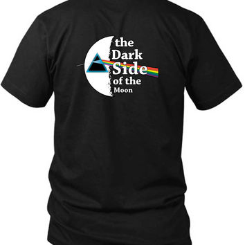 Pink Floyd The Dark Side Of The Moon 2 Sided Black Mens T Shirt