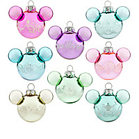 Mickey Mouse Disney Princess Mini Ornament Set