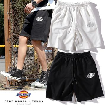 DCCK 1478 TDickies Classic logo silver printed shorts