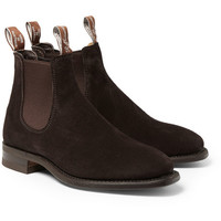 R.M. Williams - Suede Chelsea Boots | MR PORTER