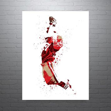 Dwight Clark San Francisco 49ers Poster