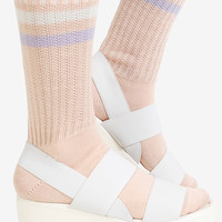 Pastel Stripe Socks - Strawberry