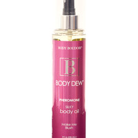 Body Dew Silky Body Oil W-pheromones - 8 Oz Blush