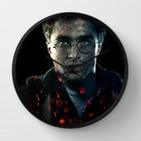 Harry Wall Clock by Max Jones | Society6