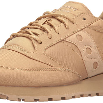 Saucony Originals Men's Jazz Mono Fashion Sneaker Tan 10.5 D(M) US '