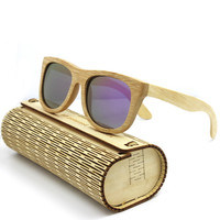 Mens & Womens Wood Sunglasses, Vintage Eyewear