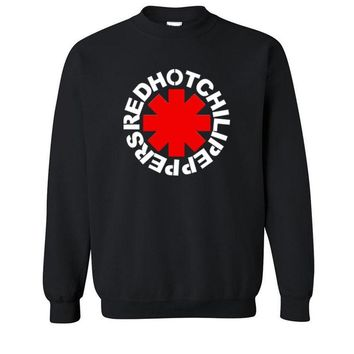 Hoodies, Sweatshirts Red Hot Chili Peppers  men Cotton men long Sleeve O Neck Tops Summer Style Free Shipping mens