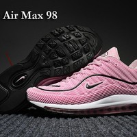 Womens 2017 Brand High Quality Running Shoes Ourdoor Sneakers AIRMAX 98 Sports Shoes N