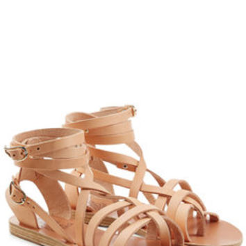 Leather Sandals - Ancient Greek Sandals | WOMEN | US STYLEBOP.com