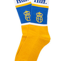 The Can Crew Socks in Gold