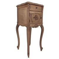 Pre-owned 1900s Louis XV Style Night Stand