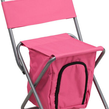 Pink Folding Camping Chair