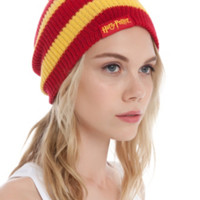 Harry Potter Gryffindor Slouch Beanie