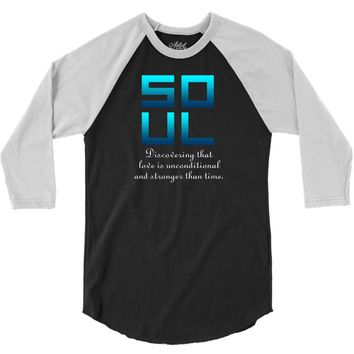 Soul (Soul + Mate Couples Design) 3/4 Sleeve Shirt