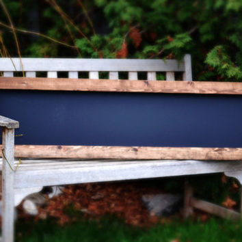 SHIPS IN 3-5 DAYS! Rustic Framed Chalkboard 48x13""