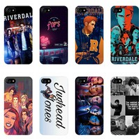 Hot TV Riverdale TPU Silicone  Cover Case for Apple iPhone 7 7PLUS 6 6s Plus SE 5 5s phone cases for iPhone 7 7plus 6 6s Plus