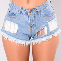 Comets Tail Shorts - Denim
