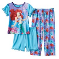 Disney's The Little Mermaid Ariel Pajama Set - Toddler Girl, Size: