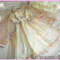 Liz Lisa Iridescent Organza Dress (NwT) from Kawaii Gyaru Shop