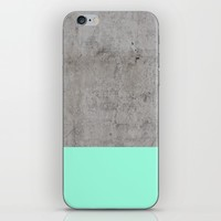 Sea on Concrete iPhone & iPod Skin by Cafelab