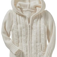 Old Navy Uniform Hooded Cardigans For Baby