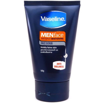 Vaseline Men Whitening Antispot Face SCRUB Facial Cleanser Foam 100g 3.5oz