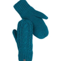 WOMEN'S CABLE KNIT MITT   United States