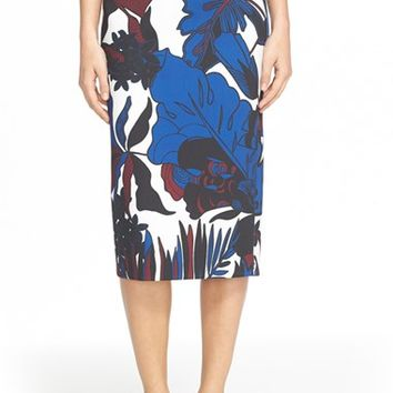 Women's Ted Baker London 'Darle' Botanical Print Skirt,