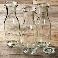 Weck Juice Jars, Set of 3