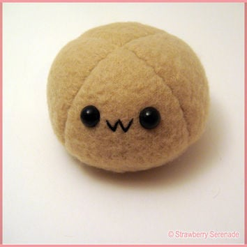 Brown mochi plushie, dango plush, anime food plushie, kawaii food, coffee mochi, coffee dango, japanese food, anime toy, dessert plushies