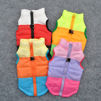 Puppy Coat Jacket Costume Winter Warm Pet Dog Clothes Vest Harness Small Dogs Supplies