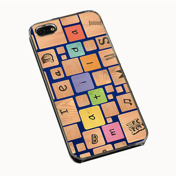 Collage Matilda iPhone 4(S) 5(S) 5C Cases