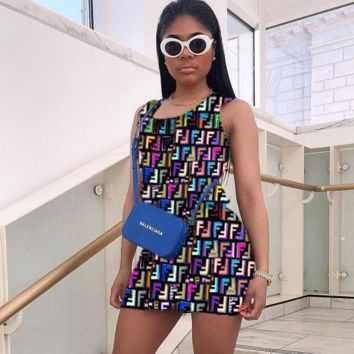 FENDI Sleeveless Dress Summer