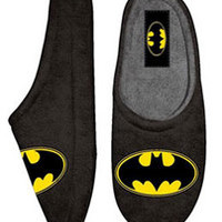 Batman Fleece Clog Slipper - goHastings
