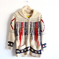 fringe with benefits cardigan