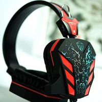 Deep Bass Game stereo Headphone with Light for PC Gamer