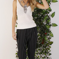 Audrey Striped Pant