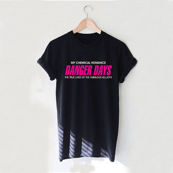 DANGER DAYS The Fabulous Killjoys My Chemical Romance Design Style White and Black Reaclothstore