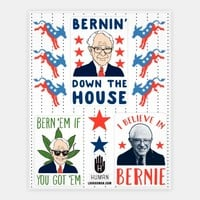 Bernin' Down the House Stickers