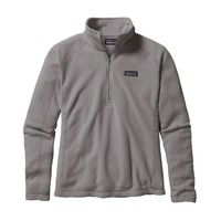 Patagonia Women's Micro D® Quarter Zip Fleece | Black