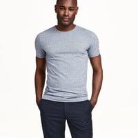 Stretch T-shirt - from H&M