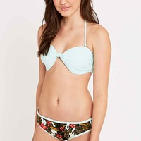 Out From Under Tropical Dolphin Hipster Bikini Bottoms in Mint - Urban Outfitters