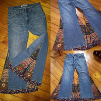 Bell Bottoms Custom Made Jeans ONE OF A KIND