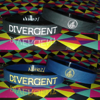Divergent - Silicone Bracelet / Wristband