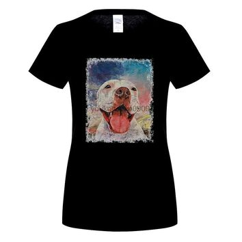 Pitbull American Dog T-Shirt For Dog Lovers