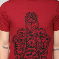 Palm Finger Tee - Urban Outfitters