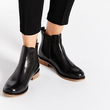 Dune Atlantic Leather Chelsea Boots