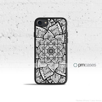 Mandala Flower Case Cover for Apple iPhone 7 6s 6 SE 5s 5 5c 4s 4 Plus & iPod Touch