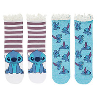 Disney Lilo & Stitch Ankle Socks 2 Pair